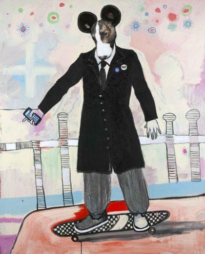 PICTOCLUB Painting - URBAN-MOUSSE - Alfredo Palmero