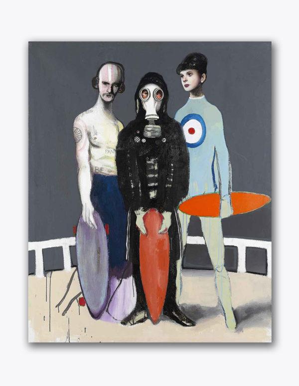 PICTOCLUB Painting - TRIBU-URBANA- Alfredo Palmero