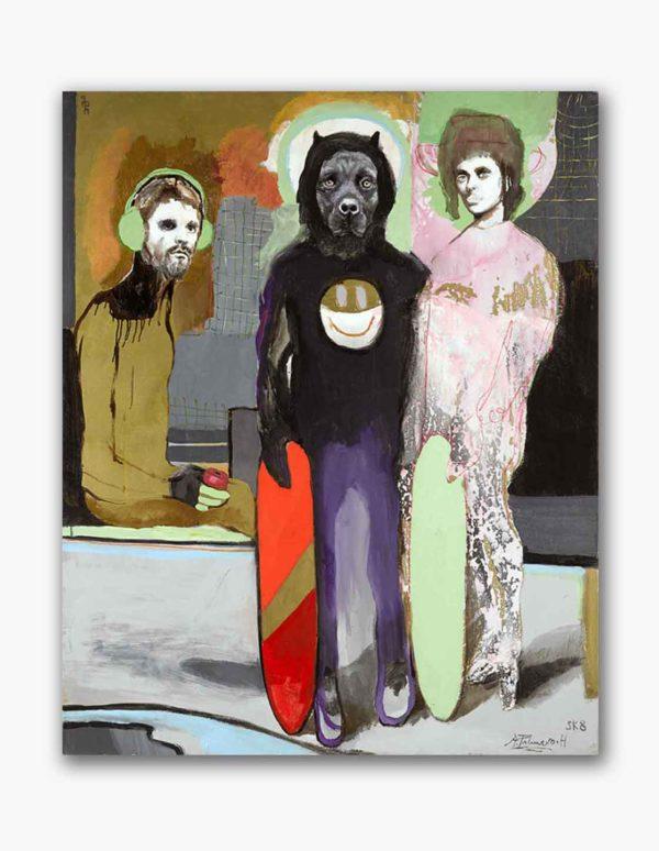 PICTOCLUB Painting - WOLFE- Alfredo Palmero