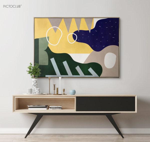 PICTOCLUB Painting - POMPIDOU - Pictoclub Originals