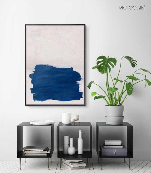 PICTOCLUB Painting - COOL BLUE - Pictoclub Originals