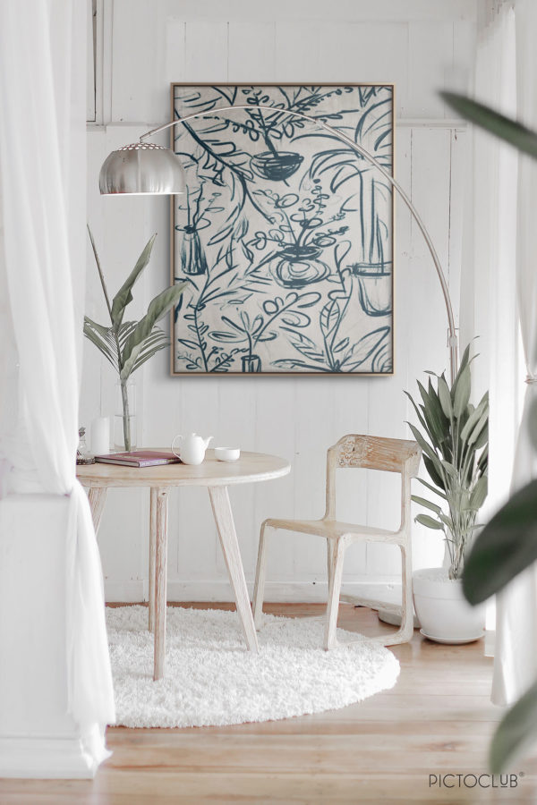 PICTOCLUB Painting - LES JARDINS - Pictoclub Originals