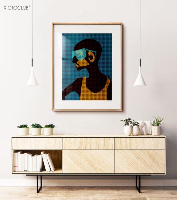 PICTOCLUB Painting - MALA - Janika Sootna