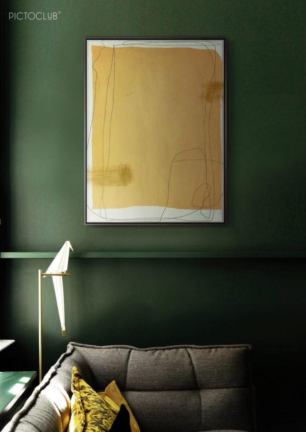 PICTOCLUB Painting - NOVEMBER - Pictoclub Originals