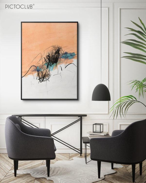 PICTOCLUB Painting - MEGEVE - Pictoclub Originals