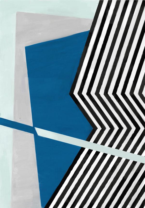 PICTOCLUB Painting - ELEVEN BLACK LINES - Pictoclub Originals