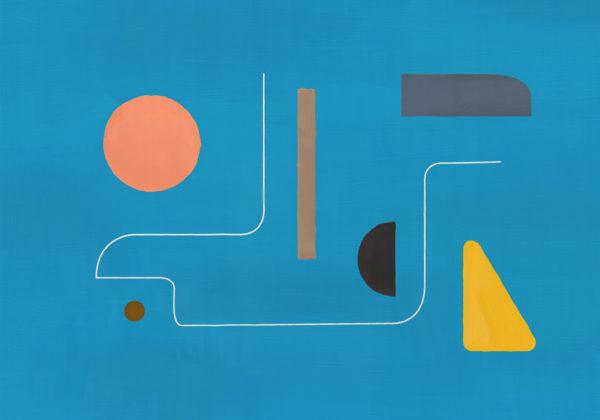 PICTOCLUB Painting - IMAGINARY BLUE - Pictoclub Originals