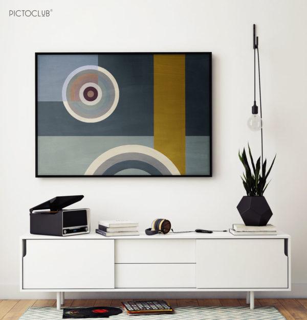 PICTOCLUB Painting - RADIO STAR 1 - Pictoclub Originals