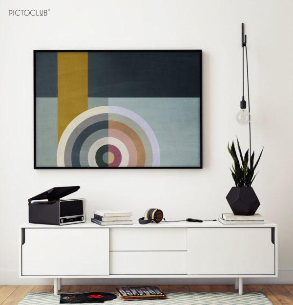 PICTOCLUB Painting - RADIO STAR 2 - Pictoclub Originals