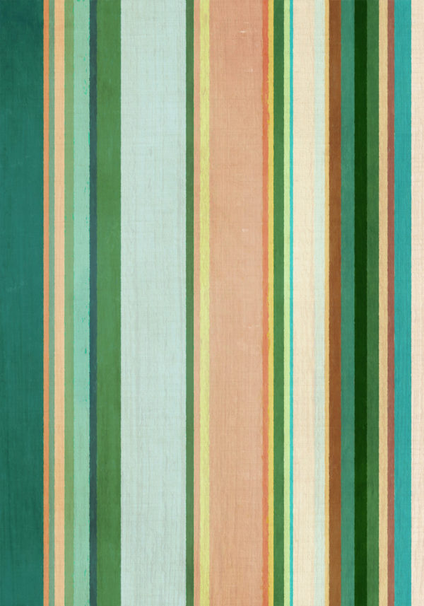 PICTOCLUB Painting - GREEN STRIPES - Pictoclub Originals