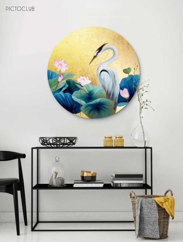 PICTOCLUB Painting - HERON 2 - Esther Moreno