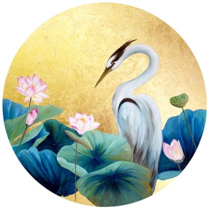 PICTOCLUB Painting - HERON 2 - Esther Moreno