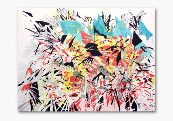 PICTOCLUB Painting - FLOWERY DEMONSTRATION - Ana Beltrá