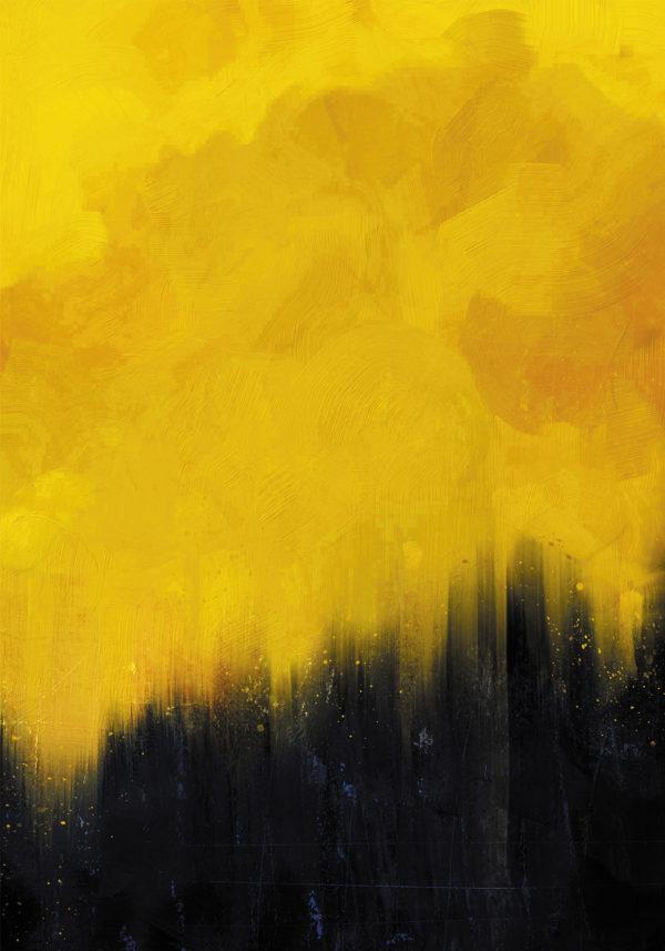 PICTOCLUB Painting - GOLDEN SUNSET - Pictoclub Originals