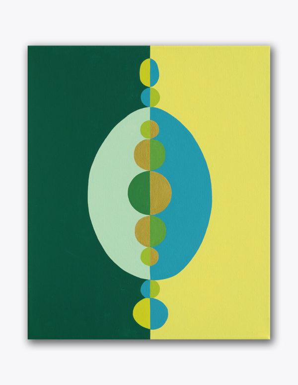 PICTOCLUB Painting - BLUEGREEN - Gima Pórtera