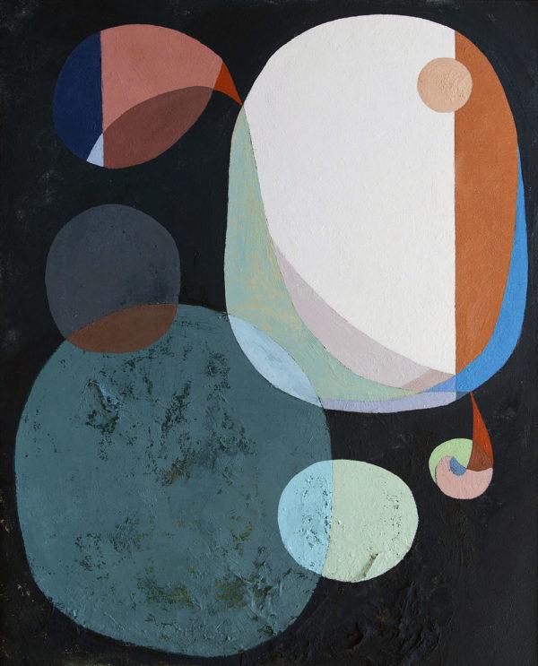 PICTOCLUB Painting - CUERPOS CELESTES - Gima Pórtera