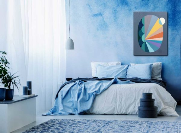 PICTOCLUB Painting - MOON STAR - Gima Pórtera