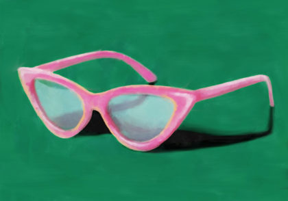 PICTOCLUB Painting - SUNGLASSES - Pictoclub Originals