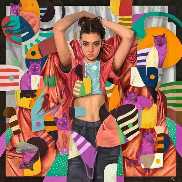 PICTOCLUB prints - Fèline - Simone Pretelli