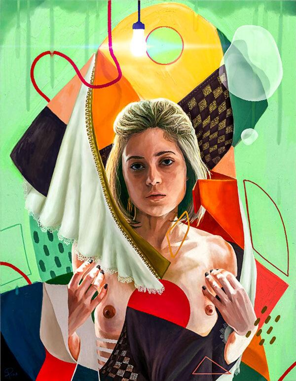 PICTOCLUB prints - ORIGAMI LOVE STORY - Simone Pretelli