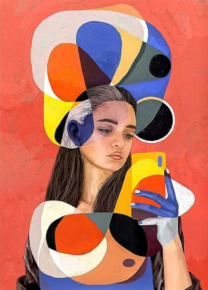 PICTOCLUB prints - Selfie - Simone Pretelli