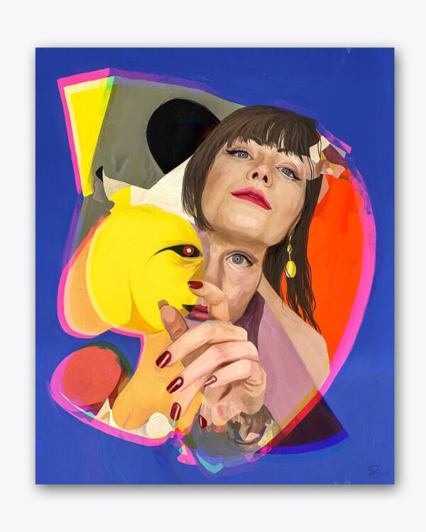 PICTOCLUB prints - The Yellow Spot - Simone Pretelli