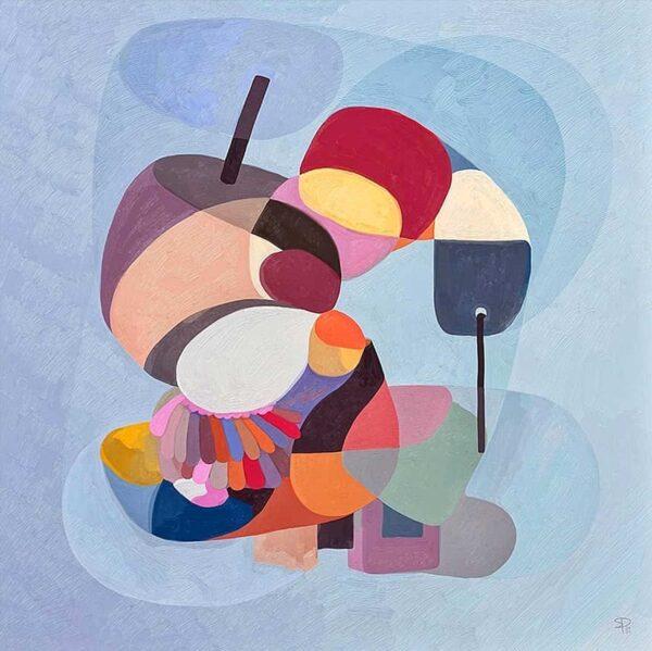 PICTOCLUB prints - Tribal dance - Simone Pretelli