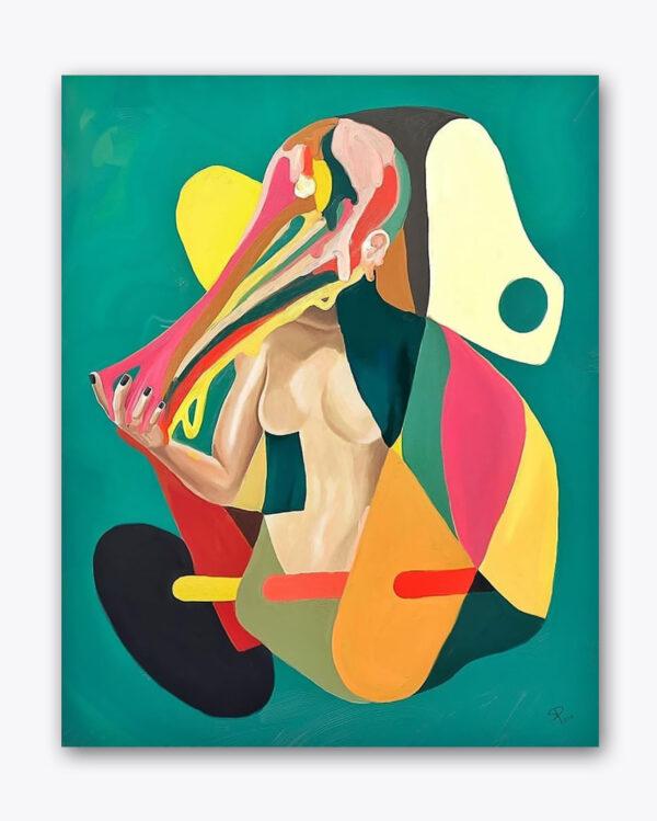 PICTOCLUB prints - ORIGAMI EGO - Simone Pretelli