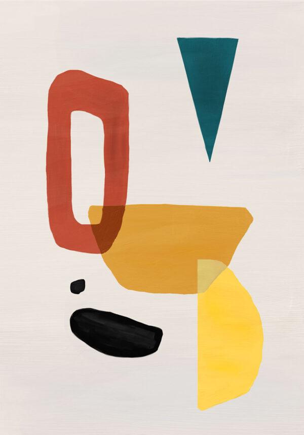 PICTOCLUB Painting - VULCANO - Pictoclub Originals