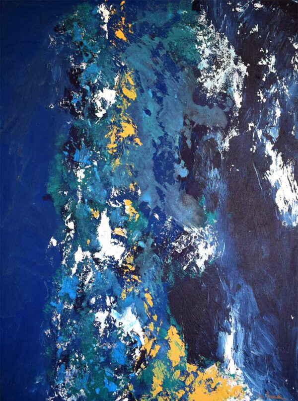 PICTOCLUB Painting - OVER THE SEA MAYBE - Marta Besada