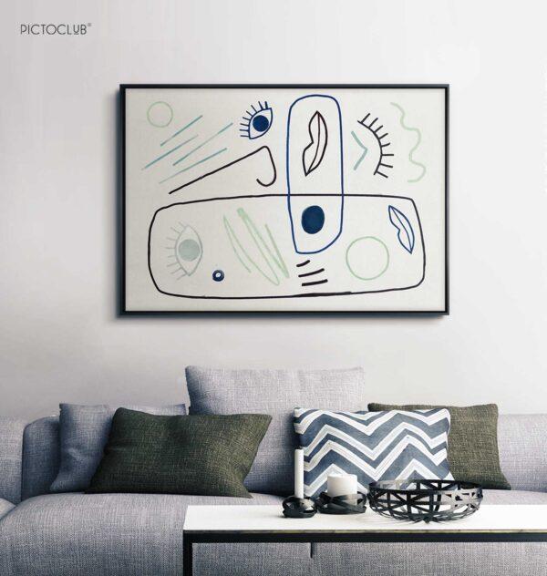 PICTOCLUB Painting - DEFINE BEAUTY - Pictoclub Originals
