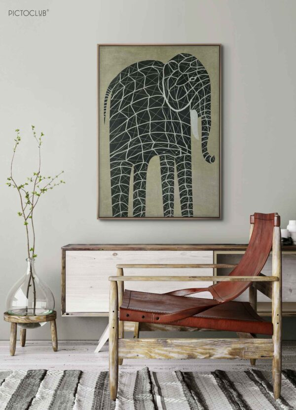 PICTOCLUB Painting - ELEPHANT - Pictoclub Originals