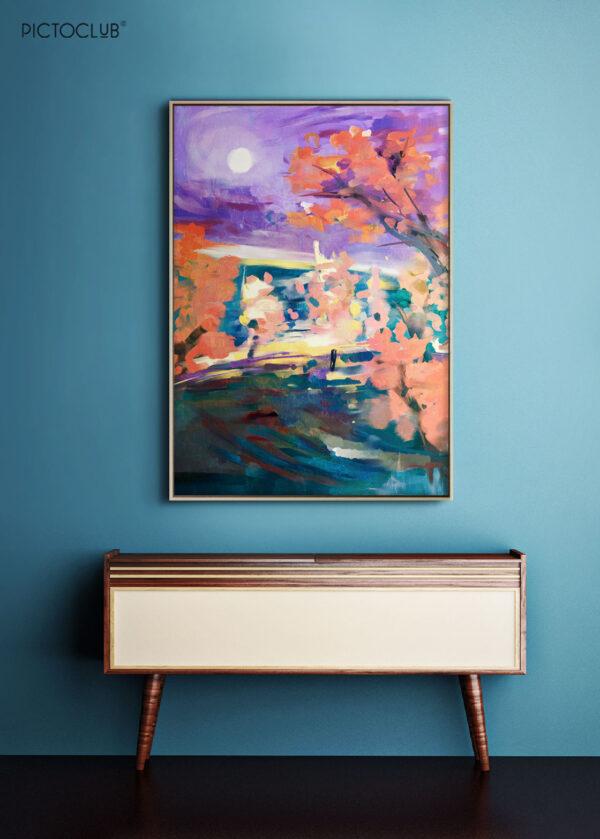 PICTOCLUB Painting - AUTUMN IN HIDE PARK - Pictoclub Originals