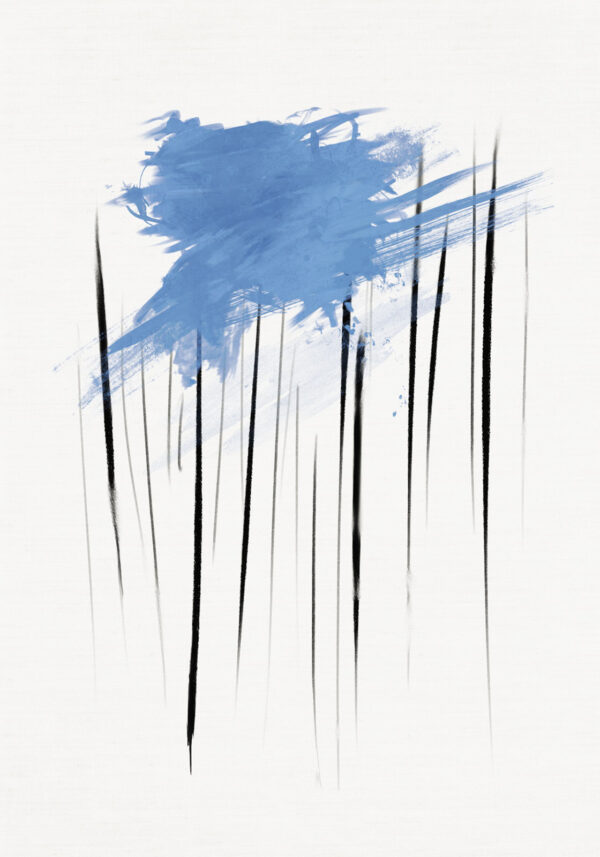 PICTOCLUB Painting - THE RAIN - Pictoclub Originals