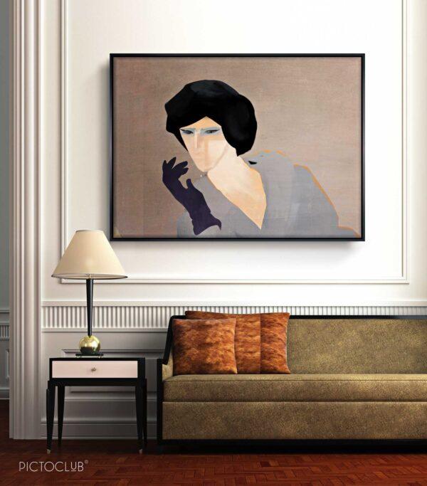 PICTOCLUB Painting - COQUETTE - Pictoclub Originals