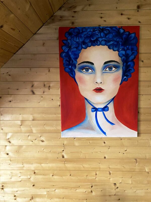 PICTOCLUB Painting - SHE IS WHO SHE IS - Romana Chudá