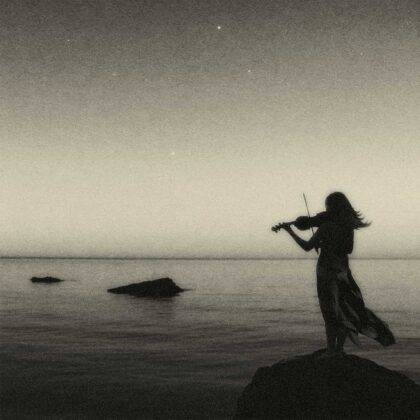 PICTOCLUB Photographs - HIGH TIDE VIOLIN- Pictoclub Originals