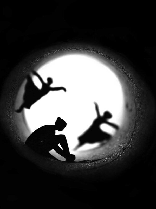 PICTOCLUB Photographs - DANCING SHADOWS- Pictoclub Originals