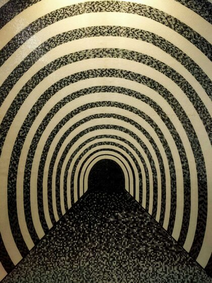 PICTOCLUB Photographs - ZEBRA TUNNEL- Pictoclub Originals