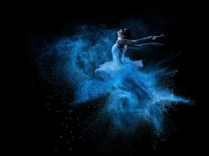 PICTOCLUB Photographs - BLUE ICE BALLERINA - Pictoclub Originals