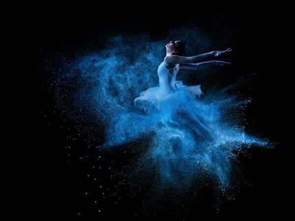 PICTOCLUB Photographs - BLUE ICE BALLERINA - Pictoclub Originals