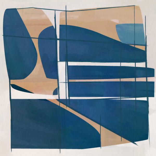 PICTOCLUB Painting - BLUE CADENCE - Pictoclub Originals