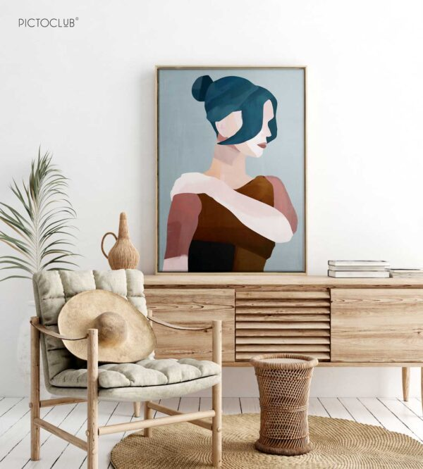 PICTOCLUB Painting - ELIANA - Pictoclub Originals
