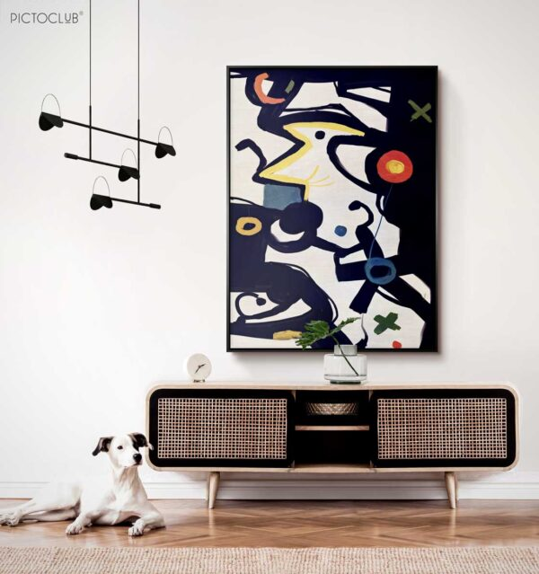 PICTOCLUB Painting - CAT IN THE WINDOW - Pictoclub Originals