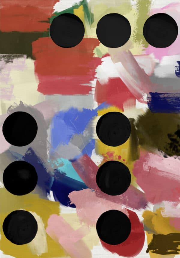 PICTOCLUB Painting - BLACK HOLES - - Pictoclub Originals