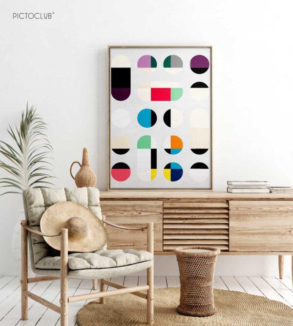 PICTOCLUB Painting - CIRCLES Vol 1 - Pictoclub Originals