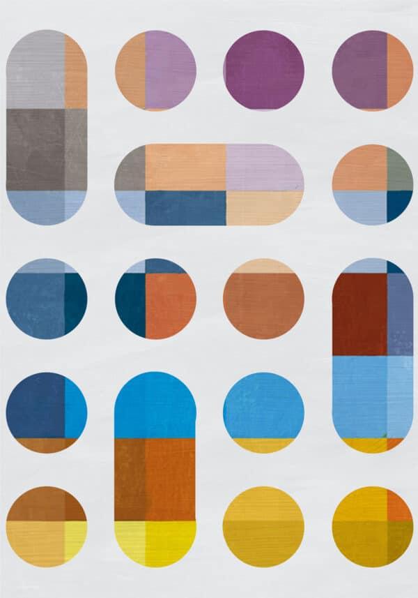PICTOCLUB Painting - CIRCLES Vol 2 - Pictoclub Originals