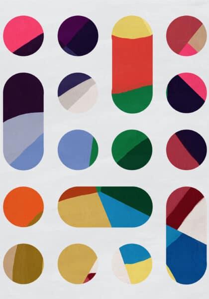 PICTOCLUB Painting - CIRCLES Vol 3 - Pictoclub Originals