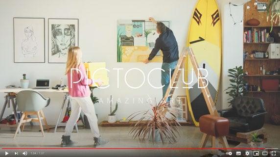 Video Pictoclub Amazing Art