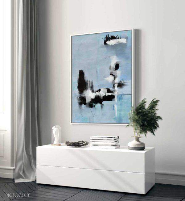 PICTOCLUB Painting - BLUE SENSE - Pictoclub Originals